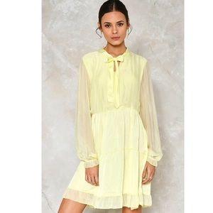 NEW Nasty Gal Silk Dress